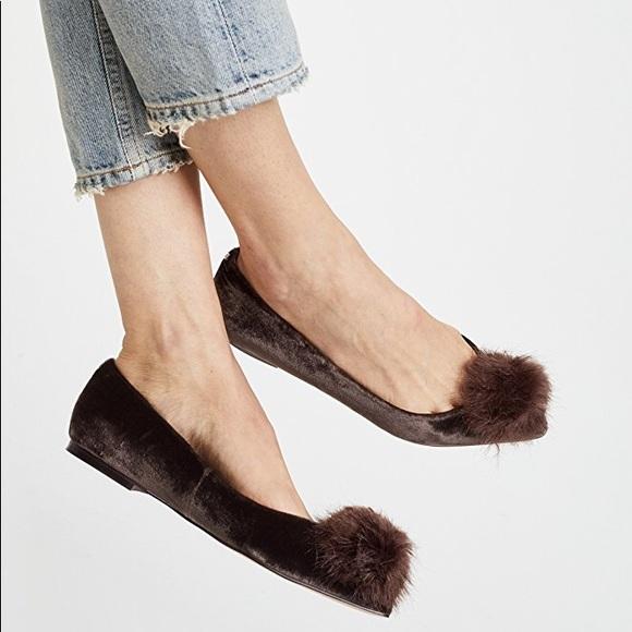 Sam Edelman Raddie Faux Fur Flat JFyTQybp6t